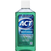 ACT Mouthwash, Anticavity Fluoride, Mint Burst, Restoring
