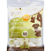 Grab Green Vetiver 3-in-1 HE Laundry Detergent Pods