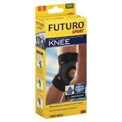 FUTURO Knee Support, Moisture Control, Moderate Support, Small