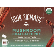 Four Sigmatic Chai Latte Mix, Sweet + Chai, Mushroom, Packets