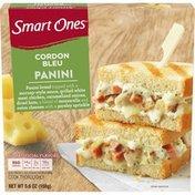 Smart Ones Cordon Bleu Panini with Mornay-Syle Sauce, Chicken, Carmelized Onions, Ham, Mozzarella, Swiss & Parsley Frozen Meal