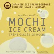 Mt Fuji Ice Cream, Mochi, Vanilla