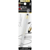 L'Oreal Eyeliner, Silky Pencil, Silver 290