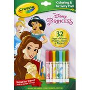 Crayola Coloring & Activity Pad, Disney Princess