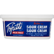 Tofutti Sour Cream, Milk Free, Imitation