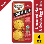Organic Valley Uncured Ham and Swiss Organic Egg Bites
