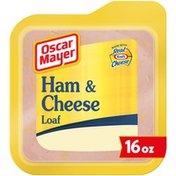 Oscar Mayer Ham & Cheese Meat Loaf with Real Kraft Cheese