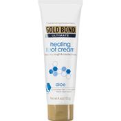 Gold Bond Foot Cream, Healing, Aloe