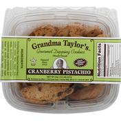 Grandma Taylor's Dipping Cookies, Gourmet, Cranberry Pistachio