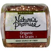 Nature's Promise Bread, Organic 14 Grain