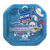 Dixie Ultra Moments Plates - 18 CT