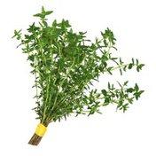 Herb Gathering Fresh Thyme