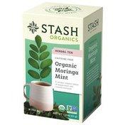 Stash Tea Organic Moringa Mint Tea Bags