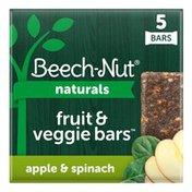 Beech-Nut Naturals Apple & Spinach Fruit & Veggie Bars