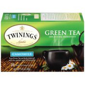 Twinings Camomile Green Tea Bags