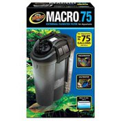 Zoo Med Macro 75 External Canister Filter for Aquariums Up to 75 Gallons