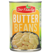 Our Family Butter Beans
