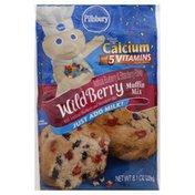 Pillsbury Muffin Mix, Wild Berry