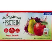 Juicy Juice +Protein Juice Fruit Punch
