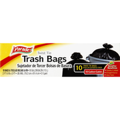 Parade Trash Bags, Twist Tie, 30 Gallon