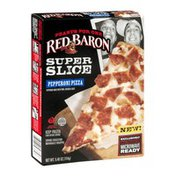 Red Baron Feasts For One Super Slice Pepperoni Pizza