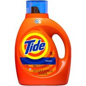 Tide HE Turbo Clean Liquid Laundry Detergent, Original