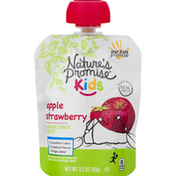 Nature's Promise Squeezable Fruit, Apple Strawberry