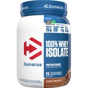 Dymatize Protein Powder, Classic Chocolate, 100% Whey Isolate
