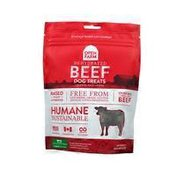 Open Farm Dehydrated Beef Dog Treats
