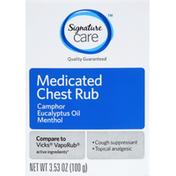 Signature Care Chest Rub, Medicated