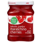 Food Club Whole Jumbo Maraschino Cherries