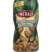 Emerald Supplements Almonds, Dry Roasted