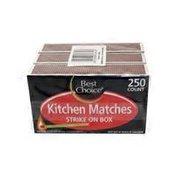 Best Choice Kitchen Matches Strike on Box