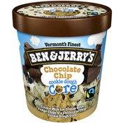 Ben & Jerry's Ice Cream Chocolate Chip Cookie Dough Core