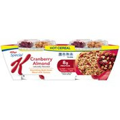 Kellogg's Special K Cranberry Almond Hot Cereal