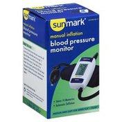 Sun Mark Blood Pressure Monitor, Manual Inflation