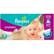 Pampers Cruisers Size 3 Diapers
