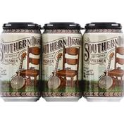 Southern Drawl Beer, Pilsner, 6 Pack