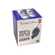 President's Choice 100% Sparkling Fruit Juice Grape