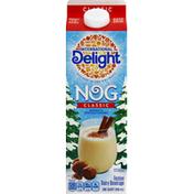 International Delight Dairy Beverage, Festive, Nog, Classic