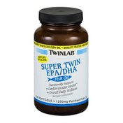 Twinlab Super Twin EPA/DHA Fish Oil Dietary Supplement Softgels - 100 CT