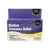 Best Choice Travel Sickness Tablets