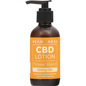 Head + Heal CBD Lotion, Flower Blend