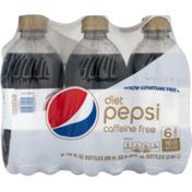 Pepsi Diet  Caffeine Free Cola (-16 Fl ) 96 Fluid  Plastic Bottles