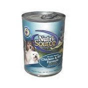 Nutrisource Canned Dog Food Chicken & Rice