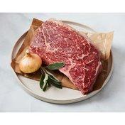 PLU 3155 Natural Beef USDA Choice Bottom Round Boneless Steak