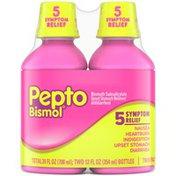 Pepto-Bismol Original Liquid for Nausea, Heartburn, Indigestion, Upset Stomach, Diarrhea
