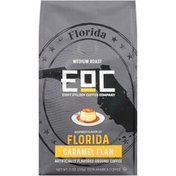 Eight O'Clock Coffee Florida Caramel Flan Flavored Medium Roast Ground Coffee