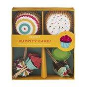 Duff Goldman Gartner Studios Cuppity Cakes Cupcake Liners & Picks - 48 CT