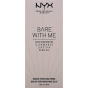 NYX Professional Makeup Radiant Primer, Bare with Me BWMHP01C